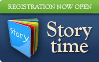 Storytime Registration Now Open